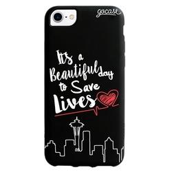 Black Case  Save Lives Phone Case