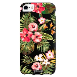 Black Case  Floral Phone Case