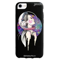 Black Case Galaxy Girl Phone Case