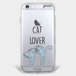 Capinha para celular Amor de Gato