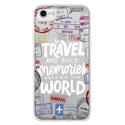Travel (White) Phone Case