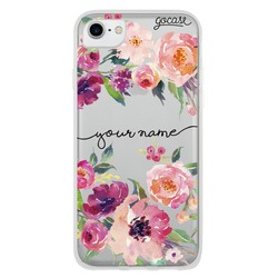 Painted Flower Handwritten Phone Case