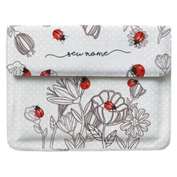 Case Clutch Notebook - Joaninhas Manuscrita