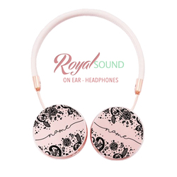 Royal Sound Headphones - Black Lace