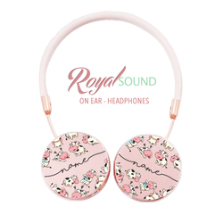 Royal Sound Headphones - Cows Handwritten