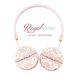 Royal Sound Headphones - Daisies Handwritten