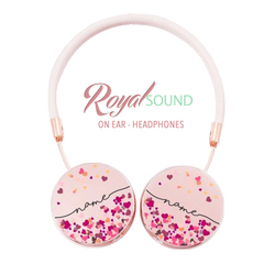 Royal Sound Headphones - Hearts Handwritten