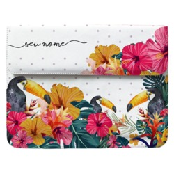 Case Clutch Notebook - Tucano Tropical Manuscrita