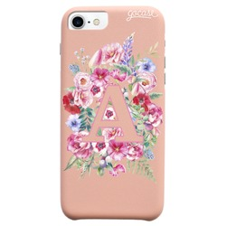 Royal Rose - Initials With Flower Phone Case