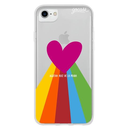 Rainbow Heart Phone Case