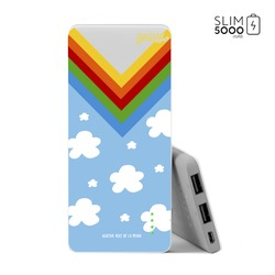 Power Bank Slim Portable Charger (5000mAh) - Happy Sky