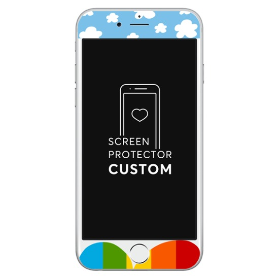 Happy Sky White Screen Protector - Tempered Glass