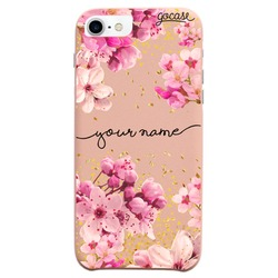 Royal Rose Gold Handwritten Phone Case