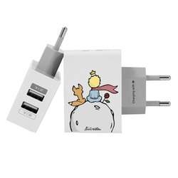 Customized Dual Usb Wall Charger for iPhone and Android - Prince