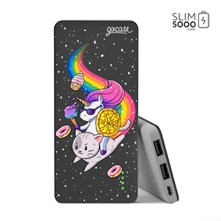 Power Bank Slim Portable Charger (5000mAh) Black - Unicorn Insane