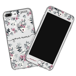 Kit Lovely Floral Handwritten (Skin Custom White + Case)