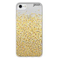 Gold Dots Phone Case