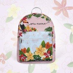 Mochila Gocase Bag - Tucano Floral Manuscrita