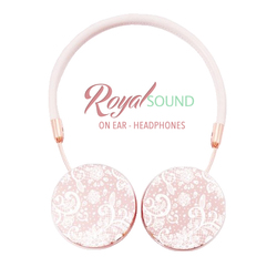 Royal Sound Headphones - White Lace