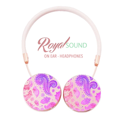 Royal Sound Headphones - Purple And Pink
