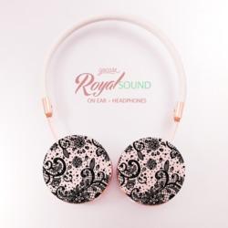 Royal Sound Headphones - Black Lace