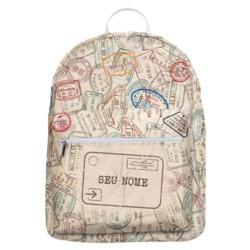 Mochila Gocase Bag - Passaporte Personalizada