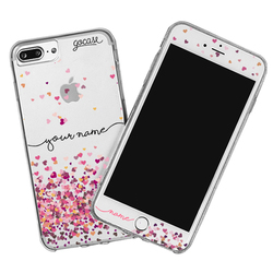 Kit Hearts Handwritten (Case + Screen Protector + Screen Cleaner)