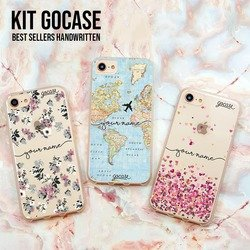 Kit Best Sellers Handwritten (Lovely Floral + World Map + Hearts)