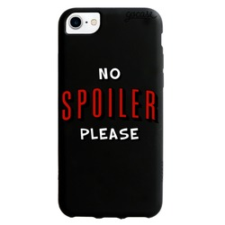 Black Case No Spoiler Phone Case