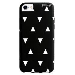 Black Case White Triangles Phone Case