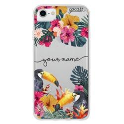 Tropical Toucans Handwritten Phone Case