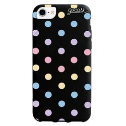 Black Case Color Dots Phone Case