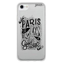 Capinha para celular Sempre Paris