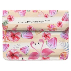 Case Clutch Notebook - Diversão Tropical Manuscrita