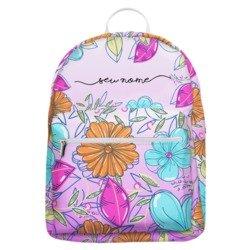 Mochila Gocase Bag - Floral Colorido Manuscrita