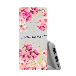 Carregador Portátil Power Bank Slim (5000mAh) - Rose Gold Manuscrita