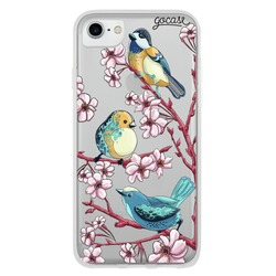 Cute Birds and Cherry Blossoms Phone Case