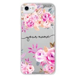 Pink Arrangement Handwritten Phone Case