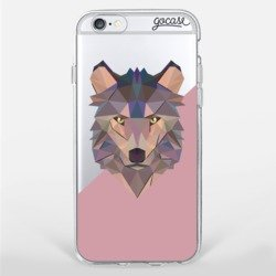 Geometric Animal - Wolf Phone Case