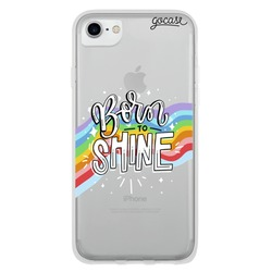 Born to Shine Lettering Phone Case