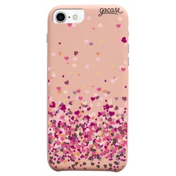 Royal Rose - Floating Hearts Phone Case