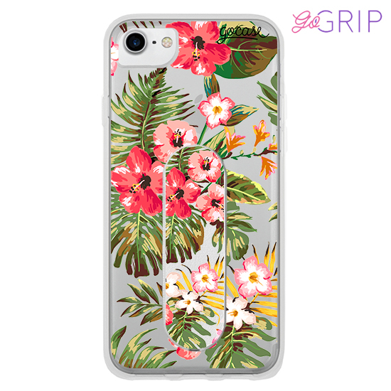 Kit Floral (Case + GoGrip)