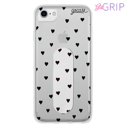 Kit Black Hearts (Capinha + GoGrip)