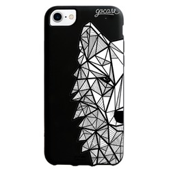 Black Case - Sketchy wolf Phone Case