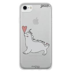 Capinha para celular Foca No Amor