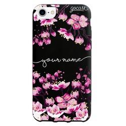 Black Case - Cherry Blossoms Handwritten Phone Case