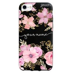 Black Case - Royale Flowers Handwritten Phone Case