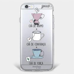 Capinha para celular Chá Comigo