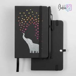 Sketchbook Black - Elephant Star