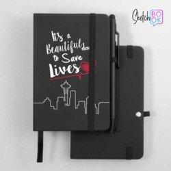 Sketchbook Black - Save Lives